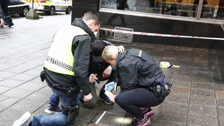 Επίθεση με μαχαίρι στο Όσλο - Υποψίες για τρομοκρατική ενέργεια