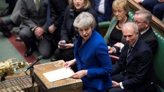 Η Μέι ενημέρωσε τις Βρυξέλλες για τις εξελίξεις στο Brexit