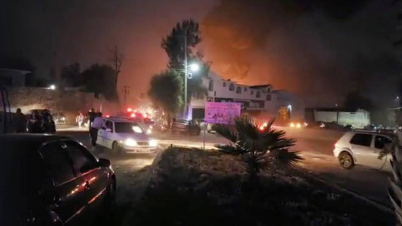 Μεξικό: Ισχυρή έκρηξη σε αγωγό καυσίμων - Τουλάχιστον 20 νεκροί