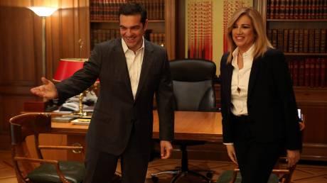 Δυσφορία και πλούσιο παρασκήνιο μετά τη συνάντηση Τσίπρα – Γεννηματά