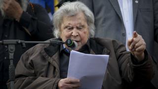 Συμφωνία Πρεσπών: «Έγκλημα η κύρωσή της» λέει ο Μίκης Θεοδωράκης
