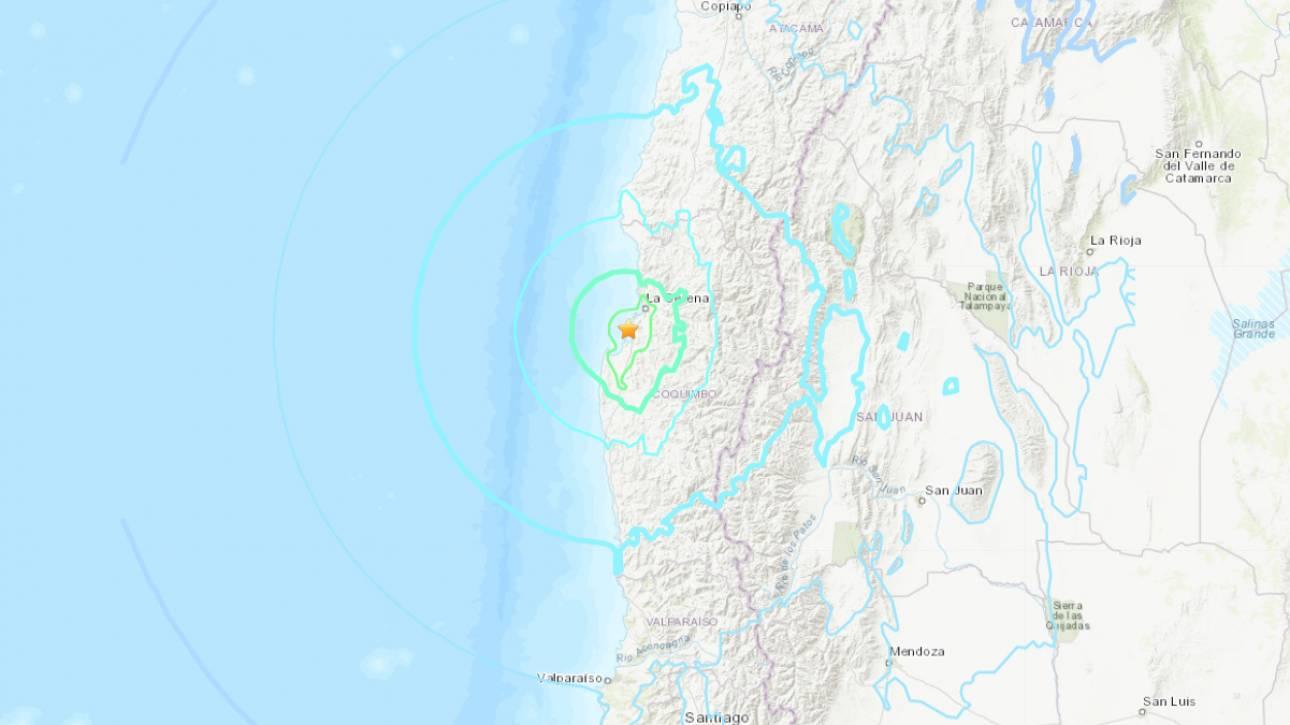 Χιλή: Ισχυρός σεισμός 6, 7 βαθμών - Δεν υπάρχει απειλή για τσουνάμι
