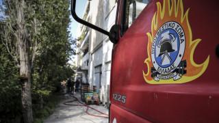 Φωτιά σε σπίτι στα Χανιά - Στο νοσοκομείο 36χρονη με εγκαύματα