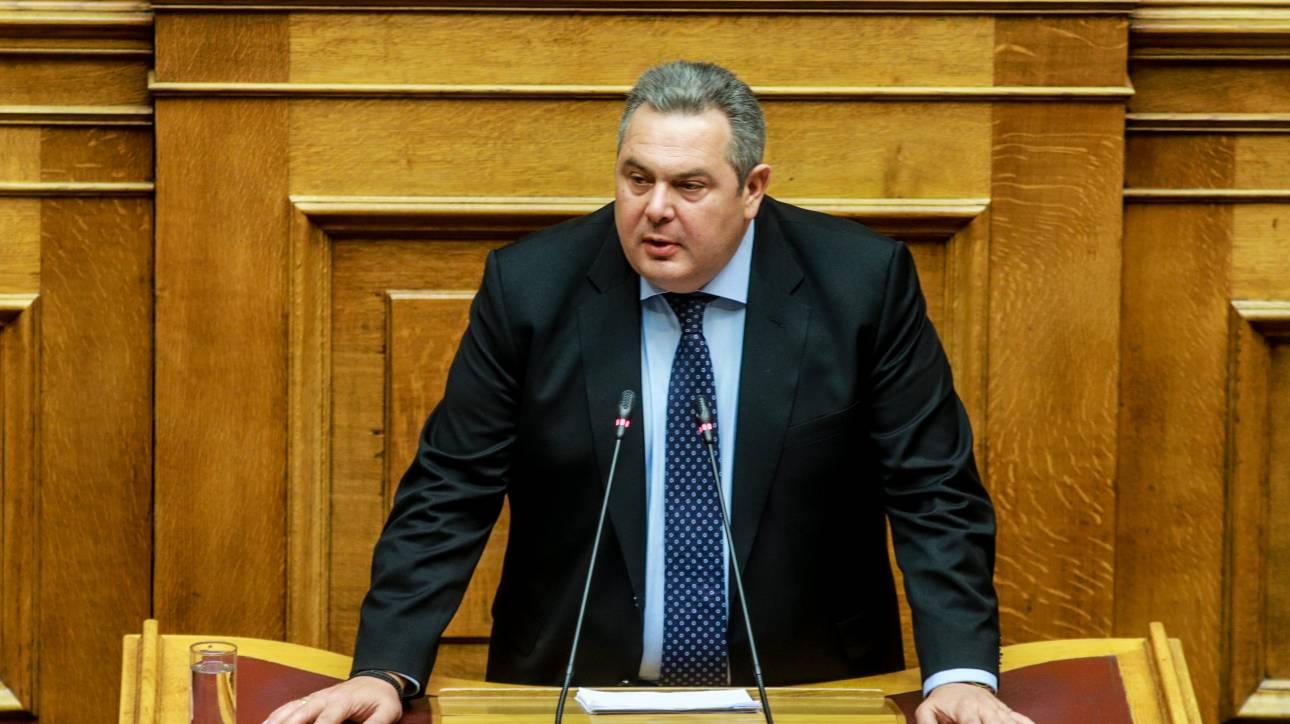 Καμμένος: Αν ο Τσίπρας δεν απομακρύνει τους υπουργούς των ΑΝΕΛ θα είναι casus belli
