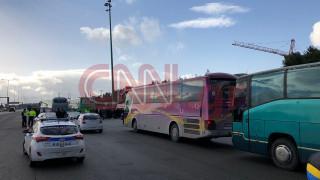 Συλλαλητήριο για τη Μακεδονία: Ατύχημα με λεωφορείο από τις Σέρρες