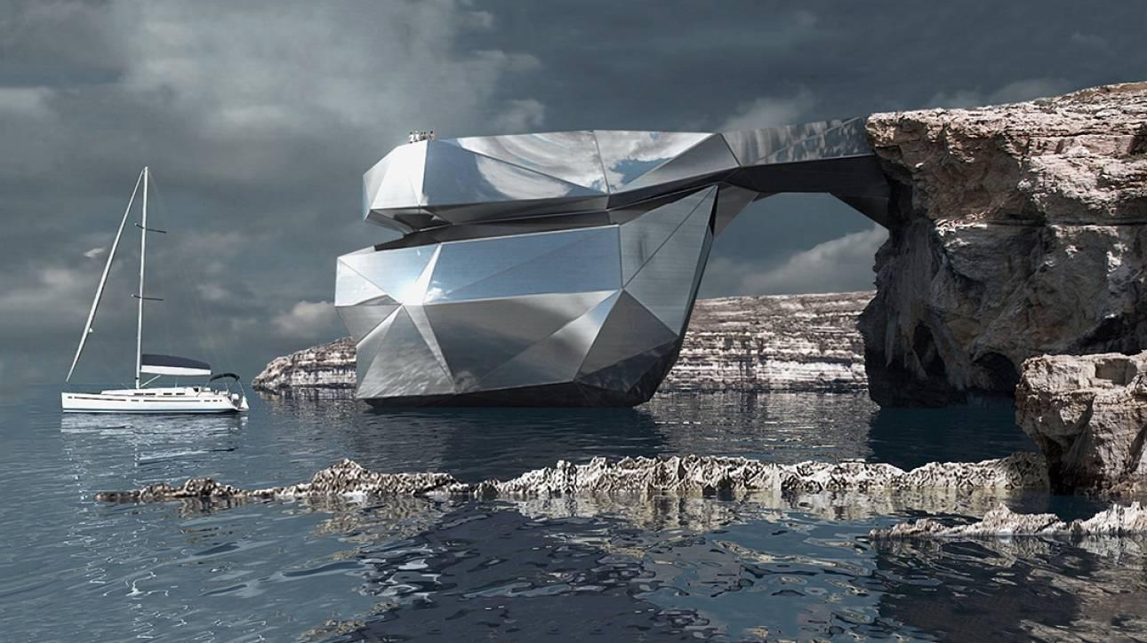 «The Heart of Malta»: Η αρχιτεκτονική συμπληρώνει τη φύση στη Μάλτα