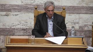 Παραιτήθηκε ο Λυκούδης από αντιπρόεδρος της Βουλής