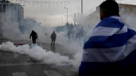 Συλλαλητήριο για τη Μακεδονία: Μηνυτήρια αναφορά του ΙΣΑ στον Εισαγγελέα για ληγμένα χημικά