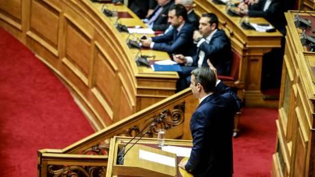 «Οπλίζει» με πρόταση μομφής η Νέα Δημοκρατία για τη Συμφωνία των Πρεσπών