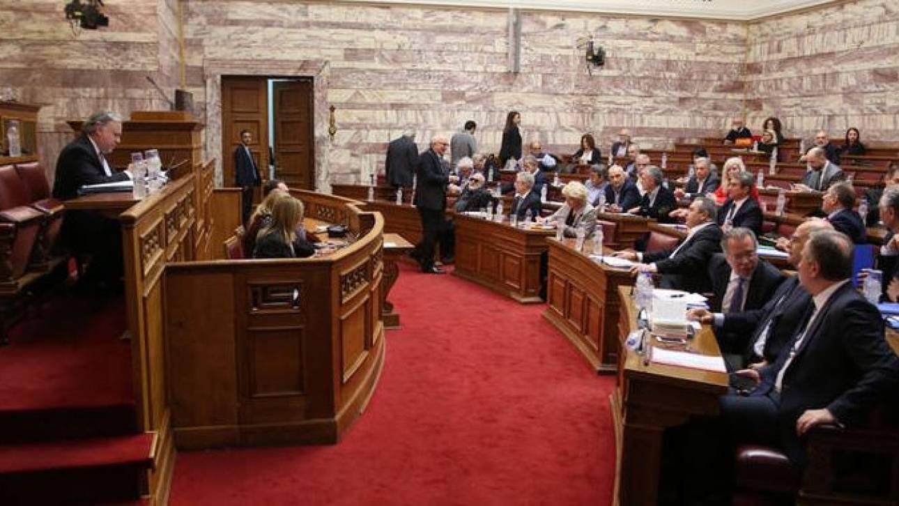 Live: Κακός χαμός στην Επιτροπή της Βουλής για τη Συμφωνία των Πρεσπών