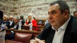 Νέα επίθεση Καμμένου σε ΣΥΡΙΖΑ: Από κυβέρνηση εθνικής συμφιλίωσης γίνατε κυβέρνηση αποστασίας