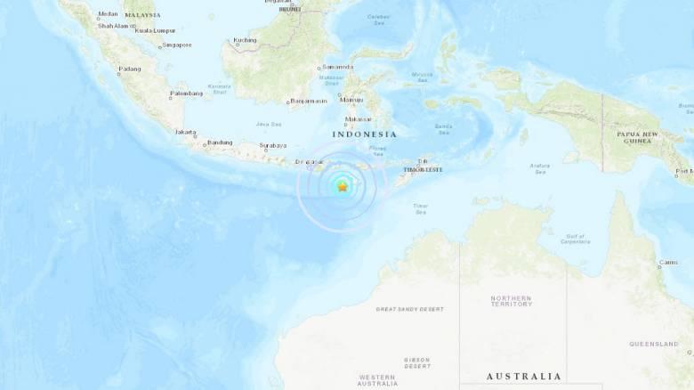 Ισχυρός σεισμός συγκλόνισε την Ινδονησία