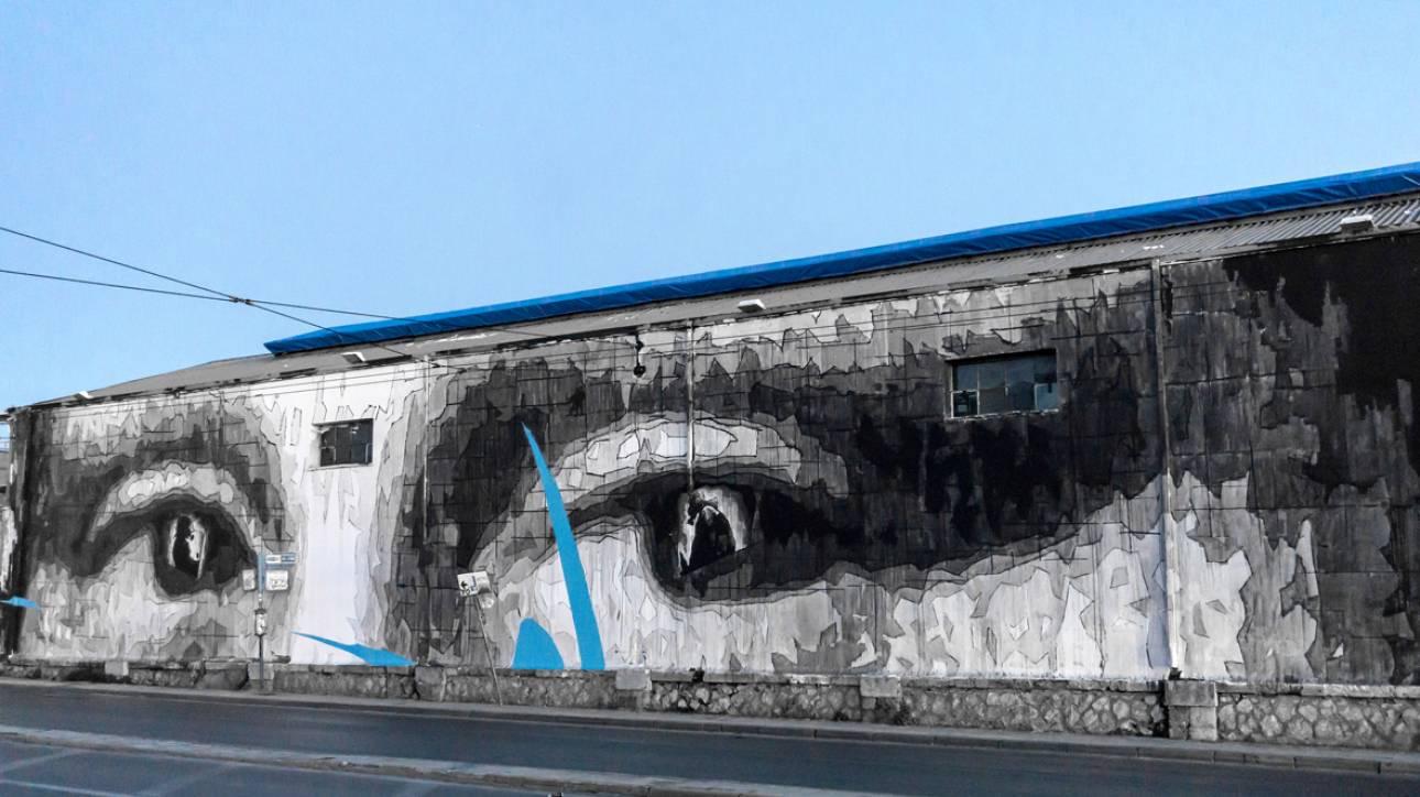 Τοιχογραφία 90 μέτρων στην Αθήνα για τα 500 χρόνια του Λεονάρντο Ντα Βίντσι