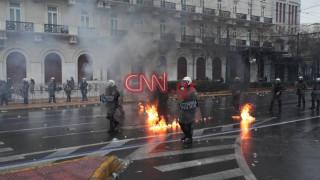 ΕΛ.ΑΣ: Υποδειγματική η επιχειρησιακή συμπεριφορά στα επεισόδια του συλλαλητηρίου (pics&vids)