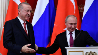 Σχέδιο Πούτιν και Ερντογάν για τη σταθεροποίηση της Συρίας