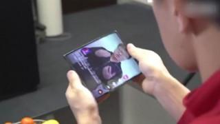 Έρχεται το πρώτο «έξυπνο» κινητό τηλέφωνο που διπλώνει στα τρία