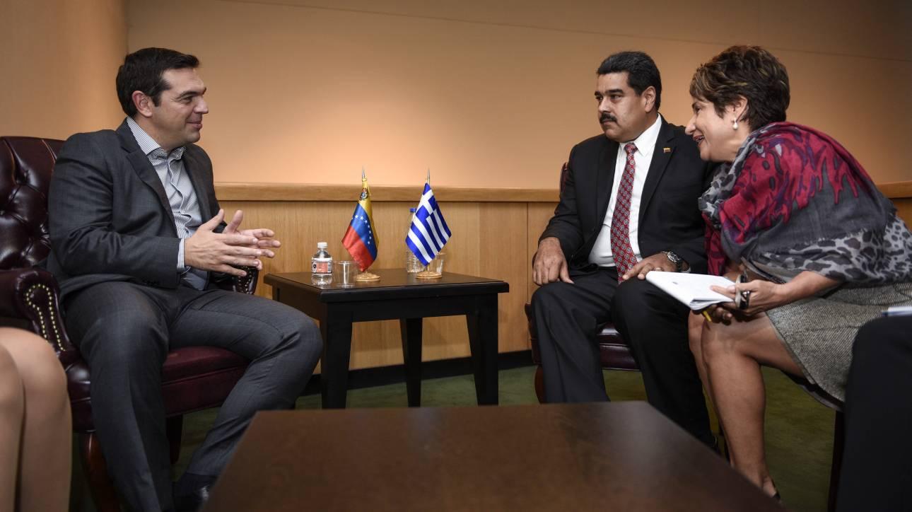 Ο ΣΥΡΙΖΑ στηρίζει Mαδούρο αλλά ζητά διάλογο και ειρηνική λύση