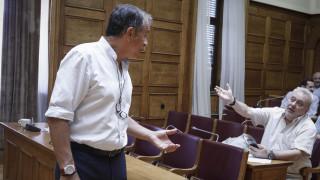 Συμφωνία των Πρεσπών: Άγριος καβγάς Θεοδωράκη με Ψαριανό - Παραλίγο να πιαστούν στα χέρια
