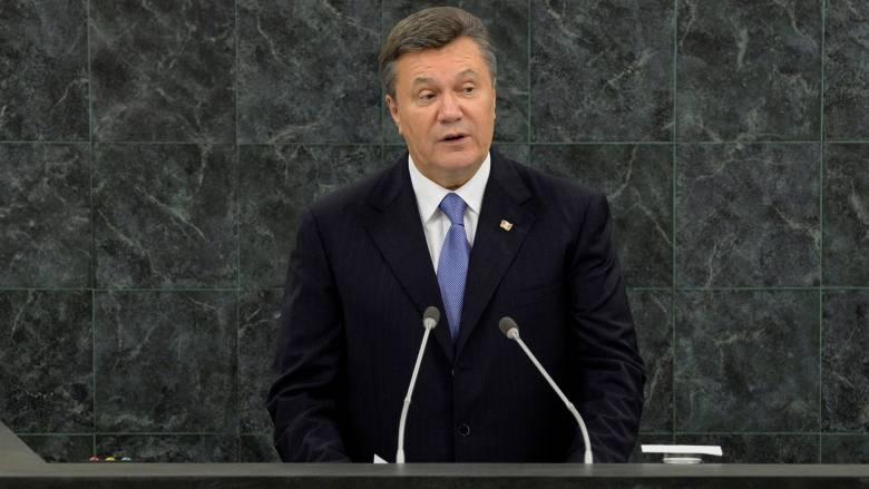 Ουκρανία: Ένοχος για εσχάτη προδοσία ο πρώην πρόεδρος Γιανουκόβιτς