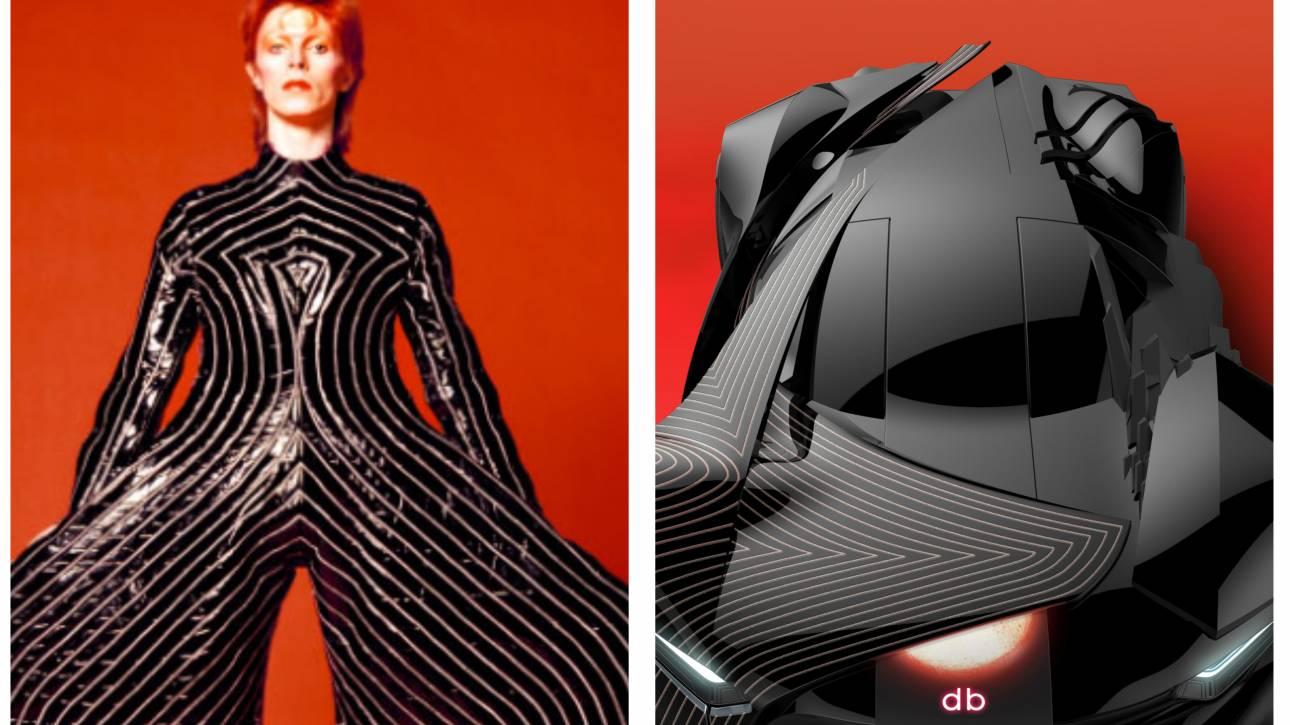 DB: Ένα αυτοκίνητο-φόρος τιμής στο Ντέιβιντ Μπάουι