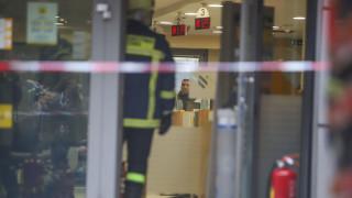 Άνδρας απειλεί να βάλει φωτιά σε υποκατάστημα τράπεζας στη Θεσσαλονίκη