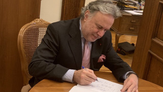 To «τιτίβισμα» του Κατρούγκαλου για την υπογραφή της Συμφωνίας των Πρεσπών