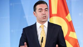 Συμφωνία των Πρεσπών: «Ζήτω η φιλία μας και ο οραματικός πατριωτισμός», λέει ο Ντιμιτρόφ
