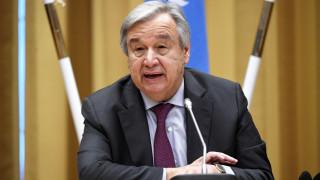 Γκουτέρες: Η Συμφωνία των Πρεσπών θα ενισχύει την ειρήνη και την ασφάλεια στα Βαλκάνια