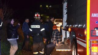 Άνδρας έπεσε λεκάνη περισυλλογής καυσίμου στο Πέραμα - Σε εξέλιξη επιχείρηση της πυροσβεστικής