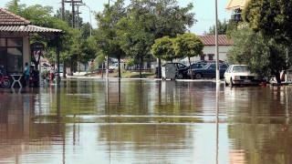 Πλημμύρες σε Μακεδονία και Ξάνθη λόγω της κακοκαιρίας - Υπερχείλισε ο Νέστος