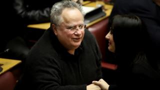 Κοτζιάς: Δικαίωση το αποτέλεσμα στη Βουλή για τη Συμφωνία των Πρεσπών