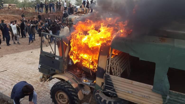 Ιρακινό Κουρδιστάν: Διαδηλωτές εισέβαλαν σε τουρκική στρατιωτική βάση - Ένας νεκρός