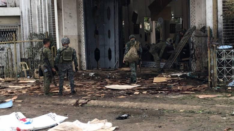 Φιλιππίνες: Δεκάδες νεκροί από τη διπλή βομβιστική επίθεση
