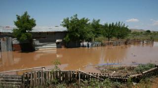 Ηλεία: Ο κάμπος του Αλφειού μετατράπηκε σε θάλασσα λόγω των πλημμυρών