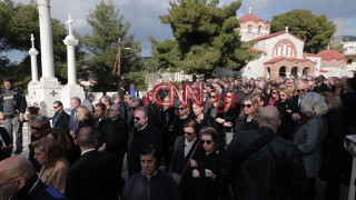 Κηδεία Θέμου Αναστασιάδη: Έντονη συγκίνηση στο τελευταίο αντίο