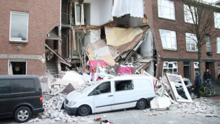 Ολλανδία: Ισχυρή έκρηξη στη Χάγη – Κατέρρευσε πολυκατοικία