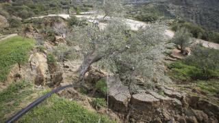 Κατολίσθηση στην Ηλεία: Εκκενώθηκαν σπίτια στο δήμο Ανδρίτσαινας - Κρεστένων