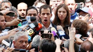 «Είμαι αποφασισμένος»: Ο Χουάν Γκουαϊδό στέλνει μήνυμα στον Μαδούρο