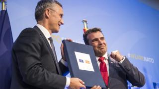 Ξεκίνησαν οι διαδικασίες ένταξης της πΓΔΜ στο ΝΑΤΟ - Στη βουλή την επόμενη εβδομάδα το πρωτόκολλο