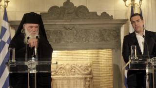 Αρχιεπισκοπή Αθηνών: Fake news η επικοινωνία Ιερώνυμου - Τσίπρα για τις Πρέσπες