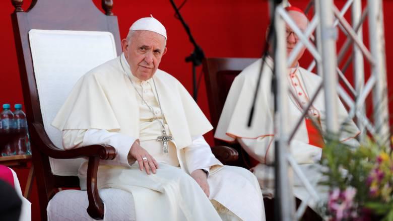 Πάπας Φραγκίσκος: Η σεξουαλική κακοποίηση ανηλίκων από ιερωμένους θα συνεχιστεί