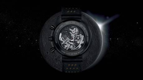 Το νεό ρολόι Speedmaster Dark Side of The Moon Apollo 8 της OMEGA