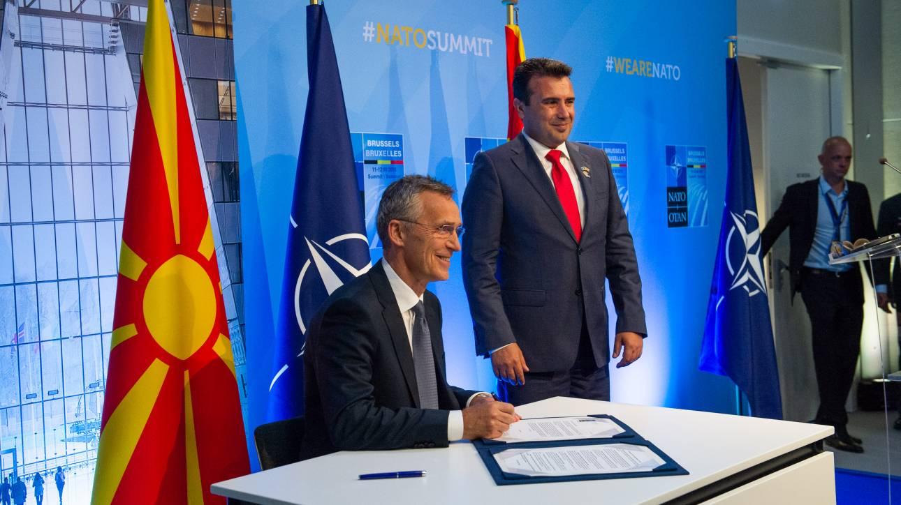 «Τρέχει» το ΝΑΤΟ για την ένταξη της πΓΔΜ στη Συμμαχία