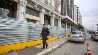 Θεσσαλονίκη: Βρέθηκε πολεμικό βλήμα σε νεοκλασσικό κτήριο της παραλίας