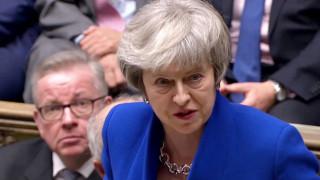 Η Μέι θέλει επαναδιαπραγμάτευση της συμφωνίας του Brexit