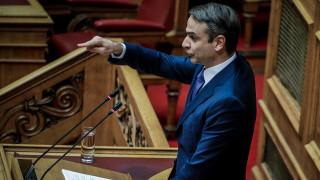 Μητσοτάκης: Ο Τσίπρας προσβάλλει τους Έλληνες, αλλά στον Ζάεφ δεν λέει κουβέντα
