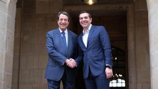 Συγχαρητήρια Αναστασιάδη στον Τσίπρα για τη Συμφωνία των Πρεσπών