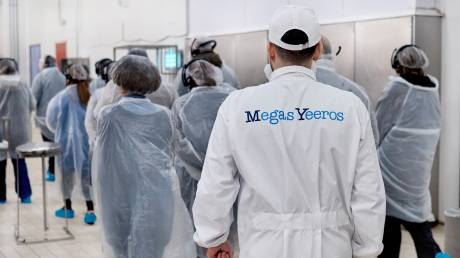Megas Yeeros: Επένδυση σε νέα γραμμή παραγωγής και νέα σειρά προϊόντων σούπερ μάρκετ