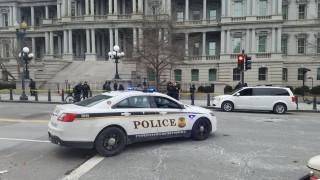Άνδρας έπεσε στις ρόδες της αυτοκινητοπομπής του Τραμπ - Δύο τραυματίες