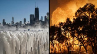 Σαραντάρια στο Σίδνεϊ, - 22 °C στο Σικάγο: Η Γη στα άκρα